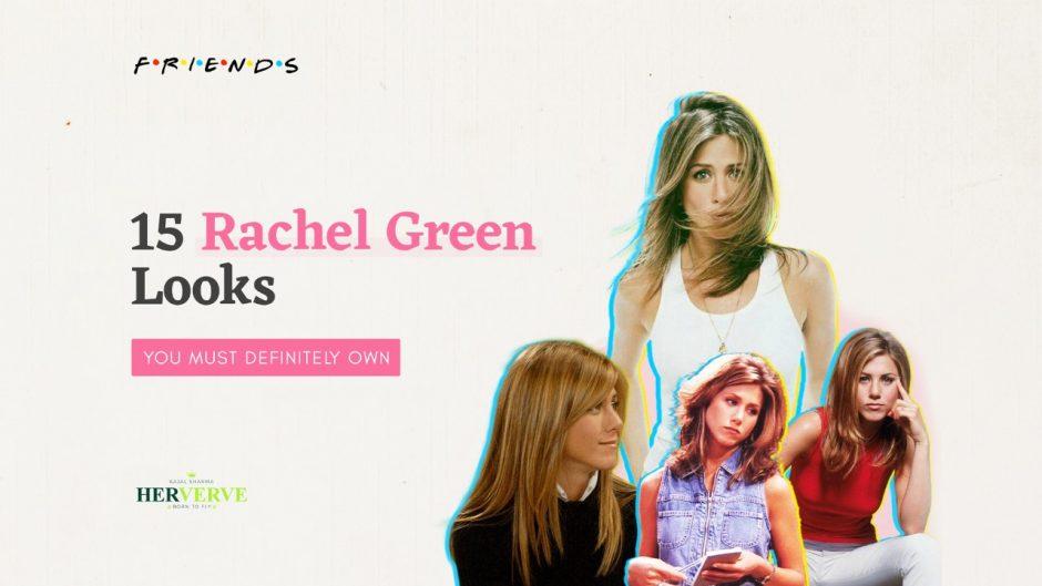 Jennifer Aniston, Rachel Green, denim vest, open hair